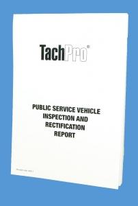 psv inspection maintenance pad, PSV inspection report book, Bus inspection report book sheet, Coach Inspection report book, minibus inspection report sheet book